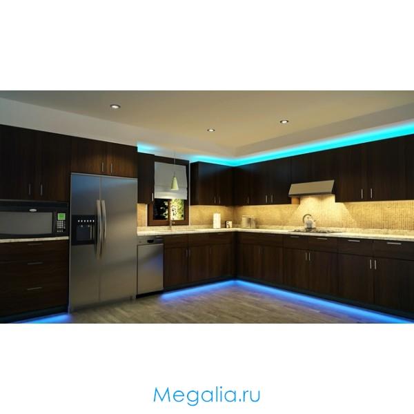 Светодиодная сенсорная подсветка для кухни, одноцветная и многоцветная