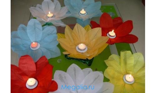 """Водный фонарик """"Цветок"""""""