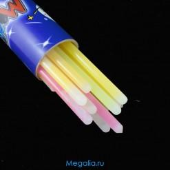 Светящаяся неоновая палочка 30 см (25 штук)
