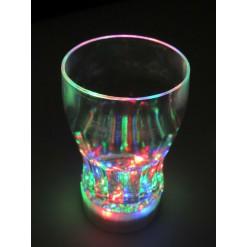 Светящийся стакан многоцветный 3