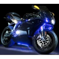 Подсветка мотоцикла RGB 2х30см и 2х60см