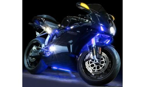 """Подсветка мотоцикла """"Moto-led-60x30x2-rgb"""""""