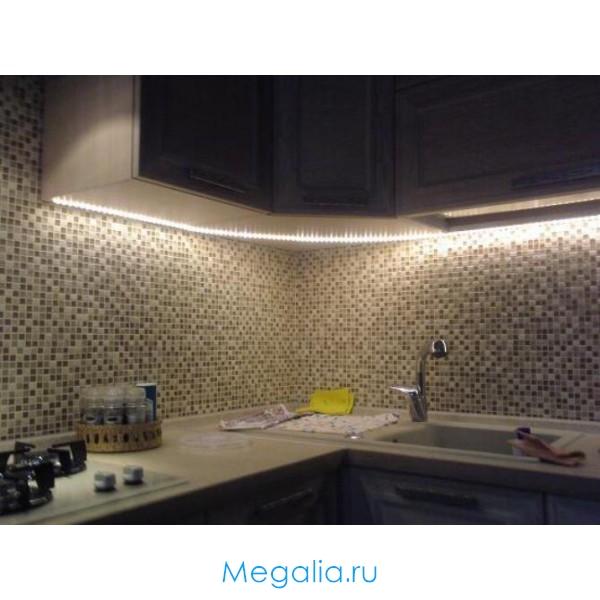 Новогоднее Подсветка кухни светодиодной ленты своими руками