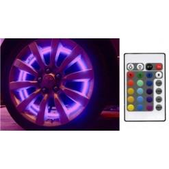"Подсветка колес автомобиля ""Auto-led-60x4-rgb SMD 5050"" ИК пульт"