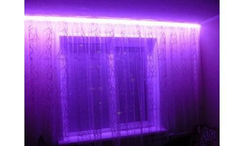 Подсветка окна (1 цвет) с пультом ДУ