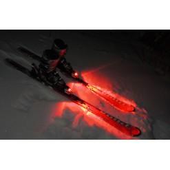 Подсветка лыж одноцветная