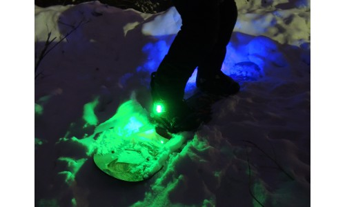 Подсветка сноуборда многоцветная
