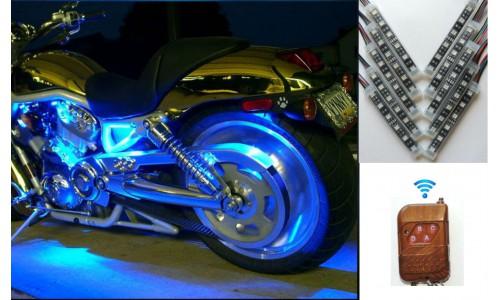 "Подсветка мотоцикла ""Moto Led V10 RGB"" (IP 68)"