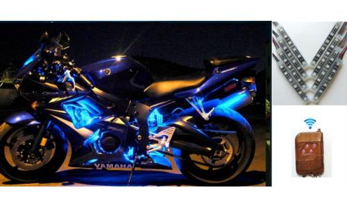 "Подсветка мотоцикла ""Moto Led V8 RGB""(IP 68)"