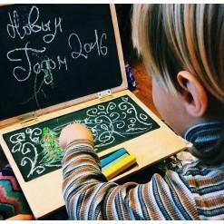 Ноутбук с доской для рисования