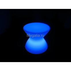 """Светящийся журнальный столик """"Hourglass"""""""