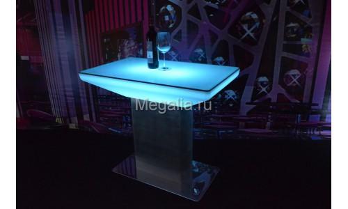 """Светящийся журнальный столик """"Trapeze II"""""""