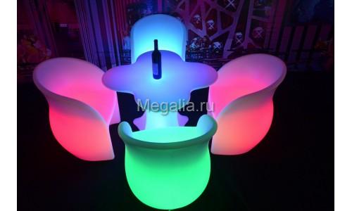 """Светящийся обеденный стол """"Blossom"""""""