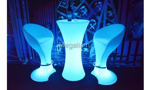 """Светящийся коктейльный стол """"Fougeres"""""""