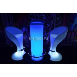"""Светящийся коктейльный стол """"Column"""""""