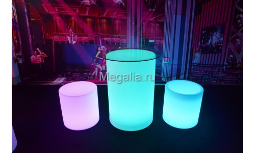 """Светящийся коктейльный стол """"Drum"""""""