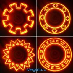 Велосипедная подсветка 7 диодов