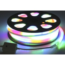 Светодиодный гибкий неон 220В 10м - 7цветов
