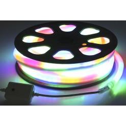Светодиодный гибкий неон 220В 20м - 7цветов