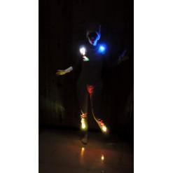 Подсветка одежды неоновым шнуром (3 метра)
