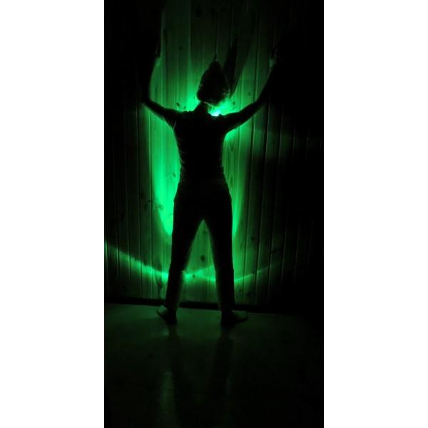 подсветка одежды цвет зеленый
