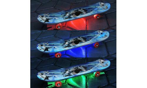 Подсветка скейтборда многоцветная