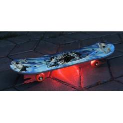 Подсветка роликовых коньков одноцветная