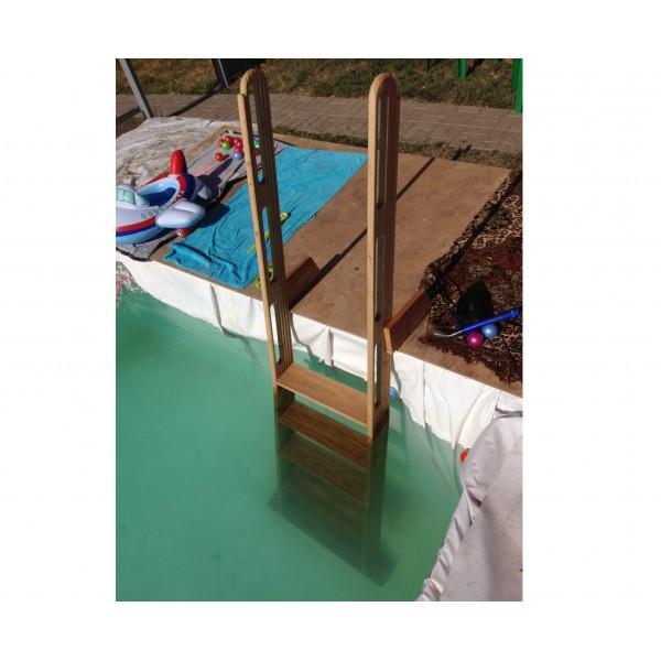 Лесенка в бассейн своими руками 269