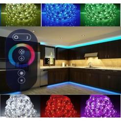 Подсветка для кухни 5 метров многоцветная (IP 33) Радио-пульт