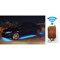 """Подсветка днища автомобиля """"Auto-led-120x90х2-rgb-SMD 5050"""" Радио пульт"""