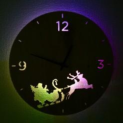 Часы с подсветкой «Новый год №1»
