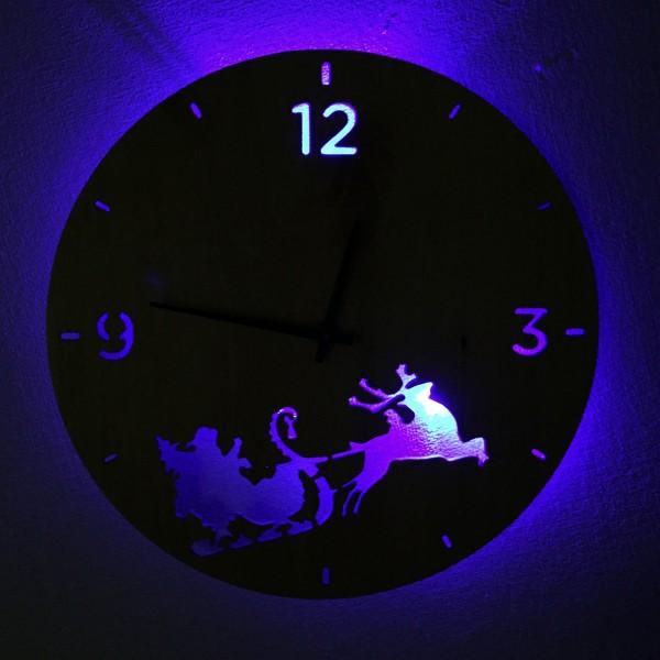 Настольные часы с подсветкой купить в интернет-магазине
