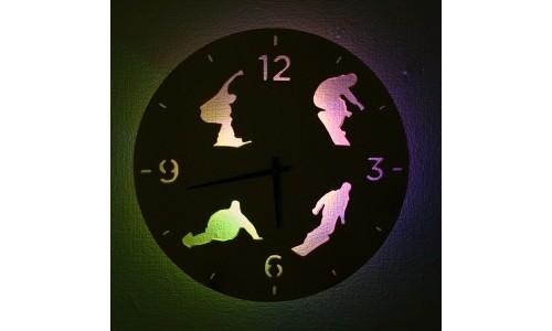 Часы «Сноуборд №13»