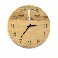 Часы с подсветкой «Весы №33»
