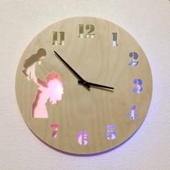 Часы с подсветкой «Семья №60»
