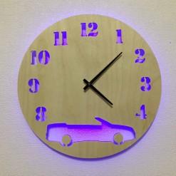 Часы с подсветкой «Машина №142»