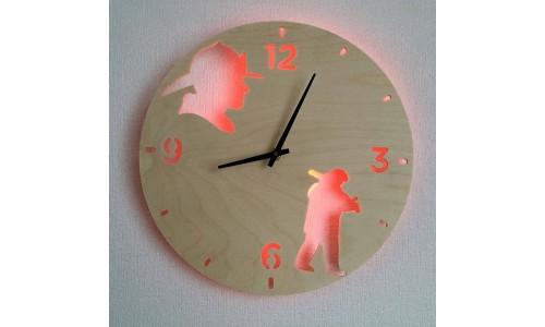Часы «Пожарные №190»