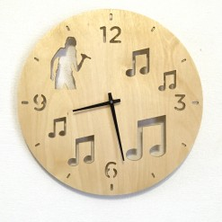Часы с подсветкой «Музыка №204»