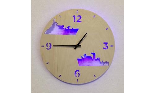 Часы «Корабли №345»