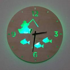 Часы с подсветкой «Рыбак №361»