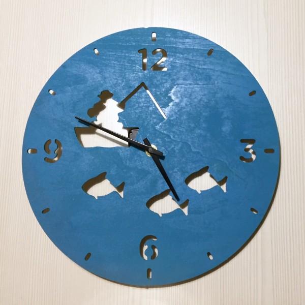 Подарок для рыбака часы 20