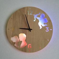 Часы с подсветкой «Любовь №370»