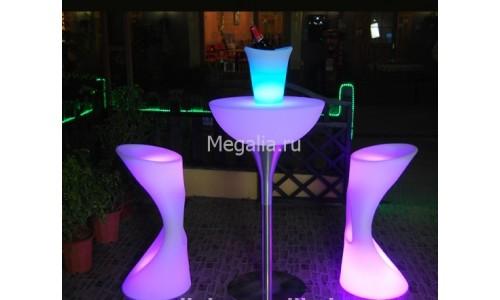 "Cветящийся стол ""Cocktail Light3"""