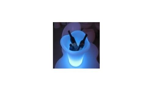 """Светящееся ведерко для льда """"Shine-7"""""""