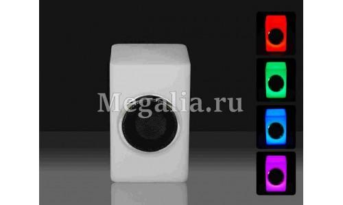 """Cветящийся динамик """"LED blue-tooth speaker-3"""" 20см"""