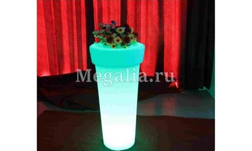 """Светящееся кашпо """"Light Round"""" 95 см"""