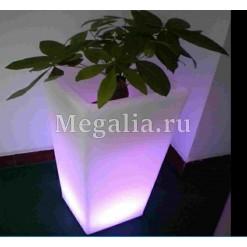 """Светящаяся ваза """"Light Square"""" 40 см"""
