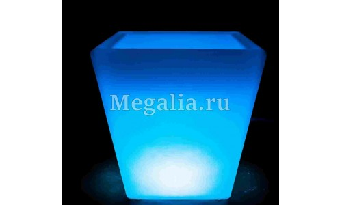 "Светящееся кашпо ""Light Square"" 50 см"