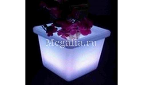 """Светящийся цветочный горшок """"Light Bouquet"""" 28 см"""