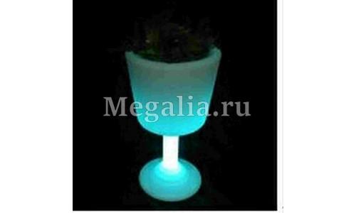 """Светящийся цветочный горшок """"Light Bouquet"""" 75 см"""